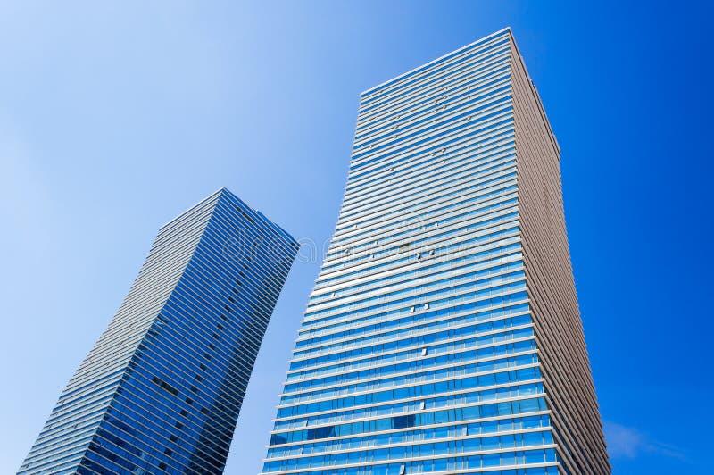Bâtiments modernes à Astana Kazakhsatan image stock