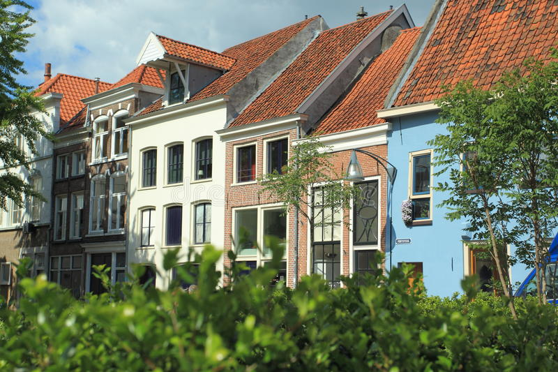 Bâtiments modernes dans Deventer photo libre de droits
