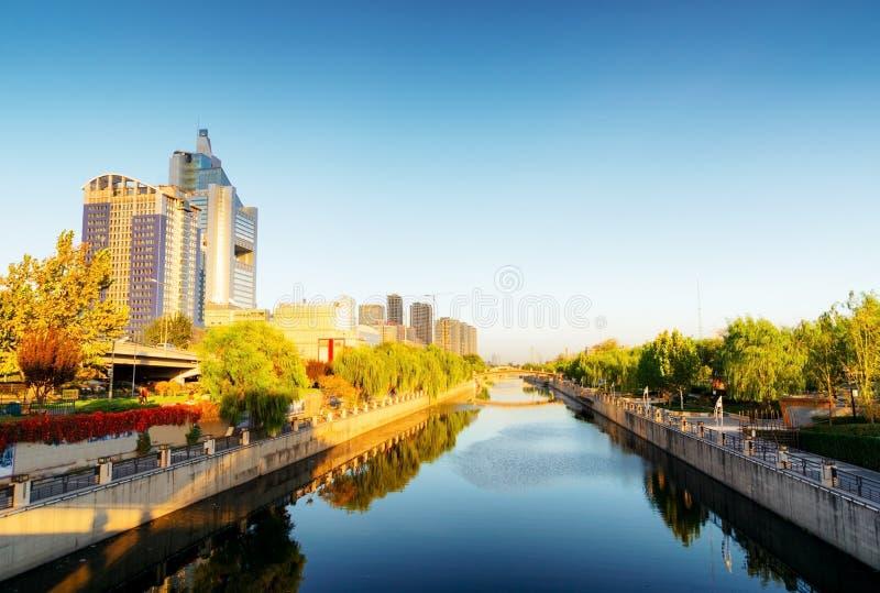 Bâtiments modernes dans le secteur de Soho. Pékin, Chine photo stock