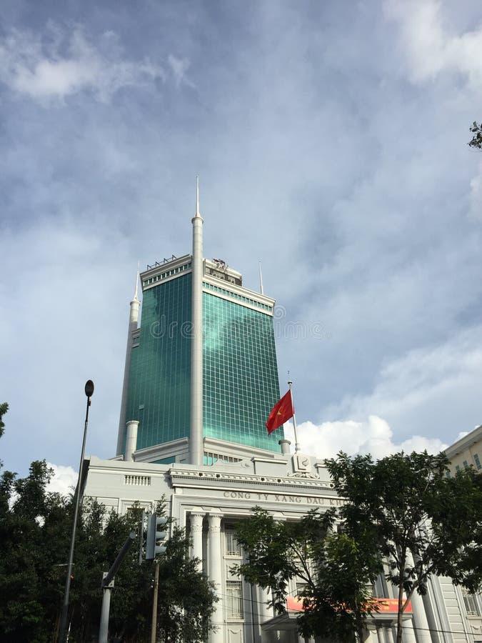 Bâtiments modernes dans Saigon, Vietnam photos stock