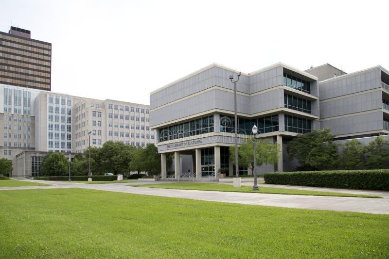 Bâtiments modernes de capitol d'état de la Louisiane image stock