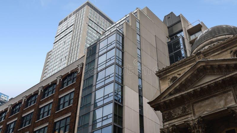 Bâtiments résidentiels à Toronto du centre images libres de droits