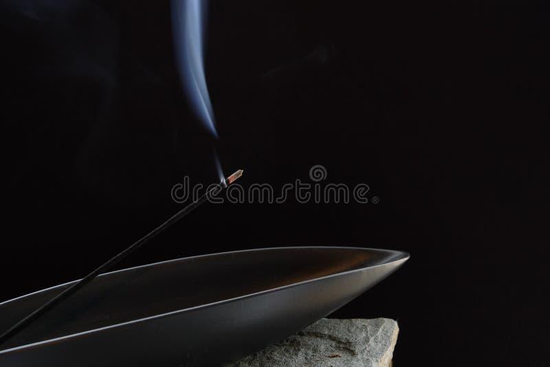 Bâton aromatique d'encens image stock