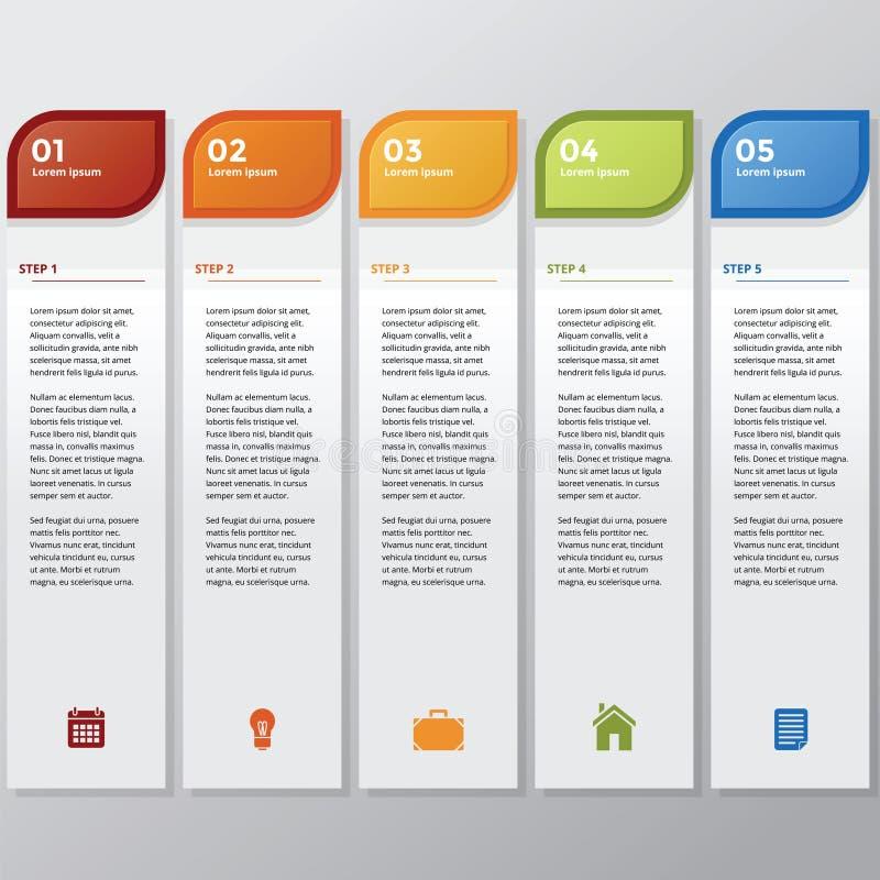 Bâton d'Infographic images libres de droits