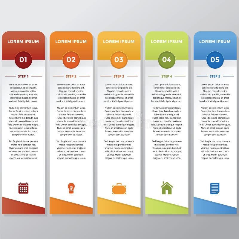 Bâton d'Infographic photo libre de droits