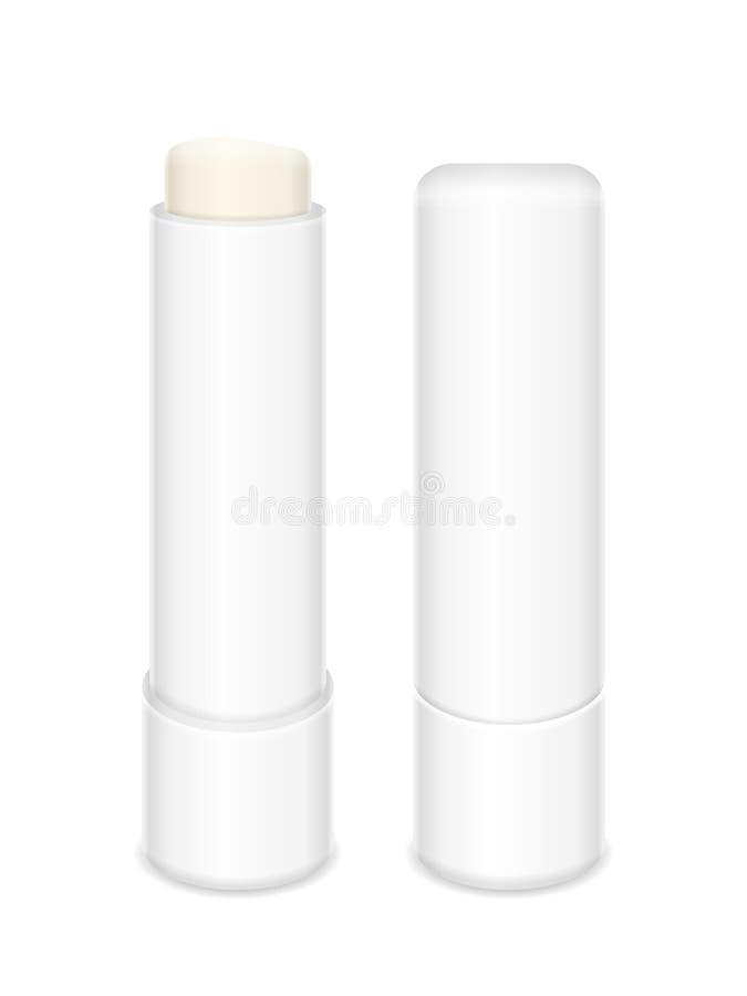 Bâton de baume à lèvres illustration de vecteur