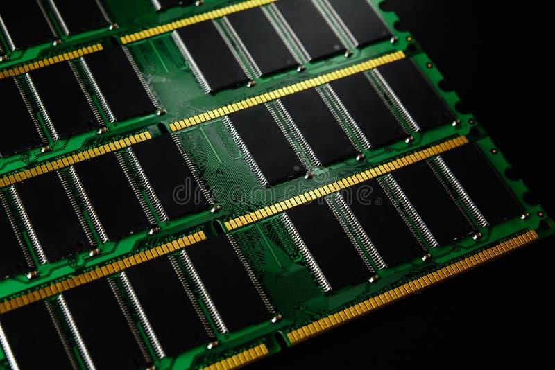 Bâton de mémoire à accès sélectif d'ordinateur ram image libre de droits