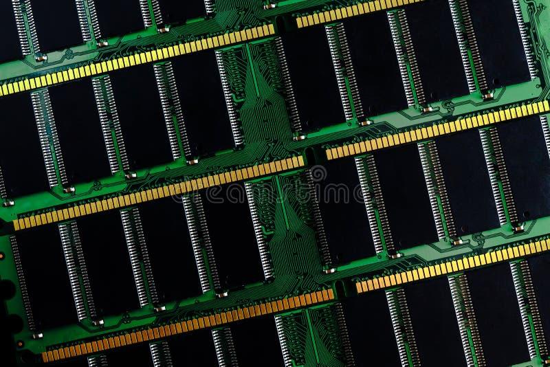 Bâton de mémoire à accès sélectif d'ordinateur ram photo libre de droits