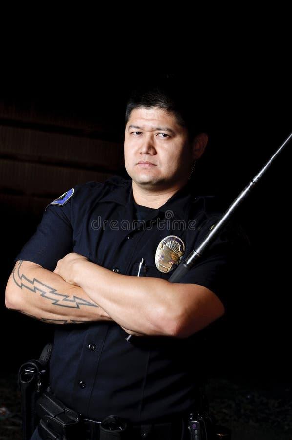 Bâton de police image libre de droits
