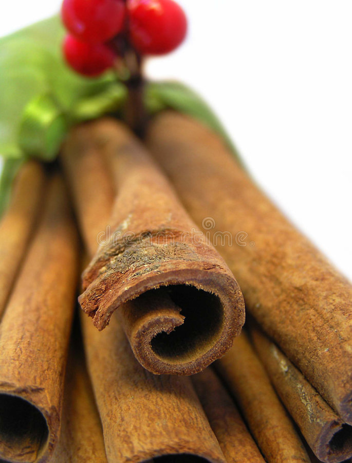 Bâtons de cannelle I images stock