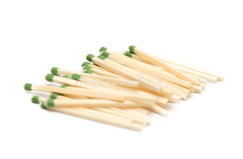 Bâtons de match image stock