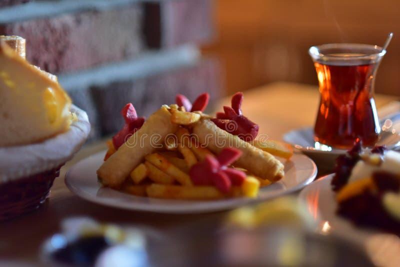 Böri de cigarette de Potatos de turc à photographie stock libre de droits