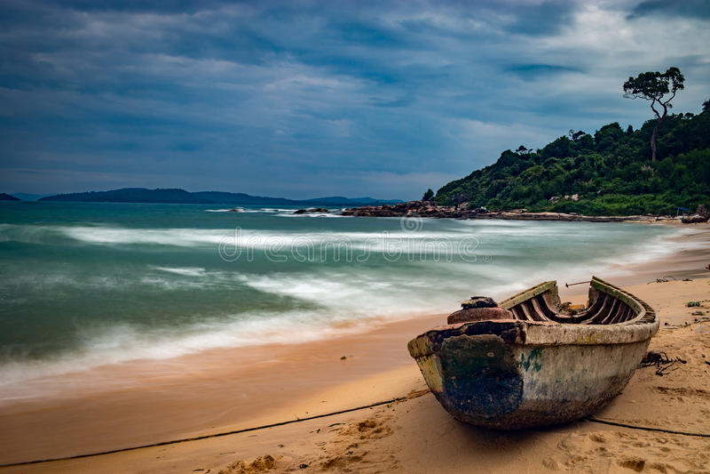 Bãi biển beach vietnam stock photography