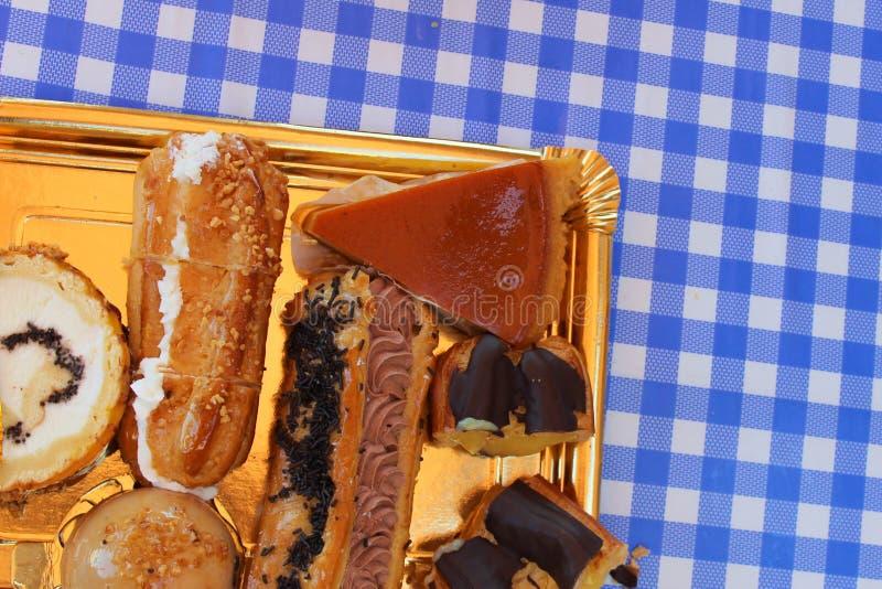 Bäckerei-Bonbon-Bäckerei-Bonbon-Lebensmittel-Detail lizenzfreie stockfotografie