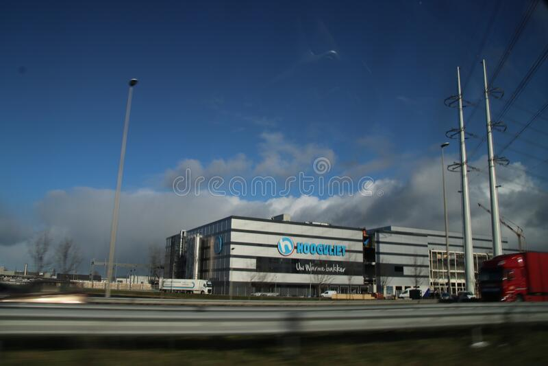 Bäckerei des Supermarktverbandes Hoogvliet in bleiswijk in den Niederlanden lizenzfreie stockfotografie
