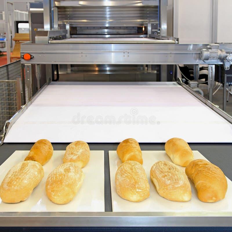 Bäckerei-Linie stockfotos