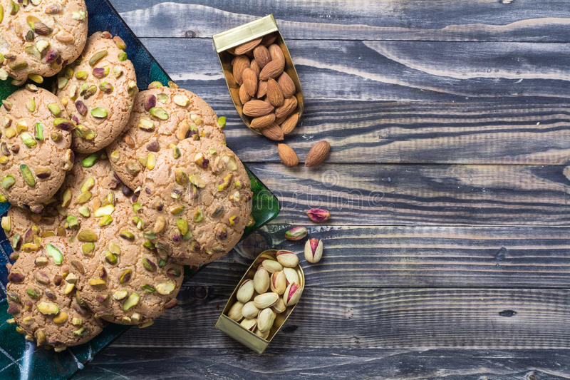 Bäckerei qurabiya lizenzfreies stockbild