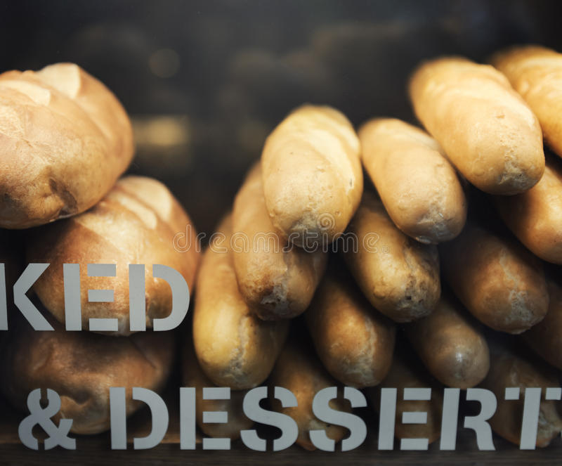 Bäckerei-Shop-Feinschmecker-Konzept stockfoto