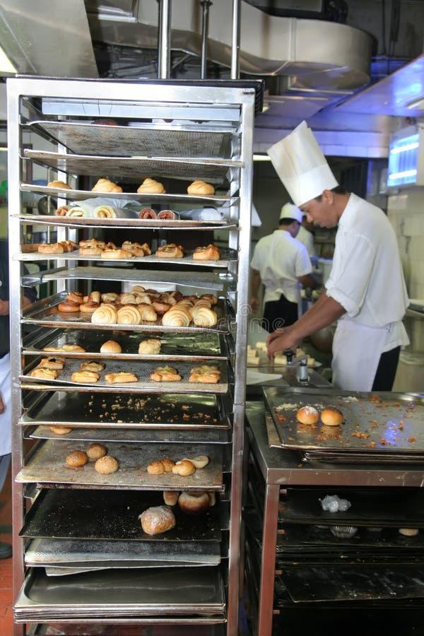 Bäckerei- und Gebäckindustrie stockbilder