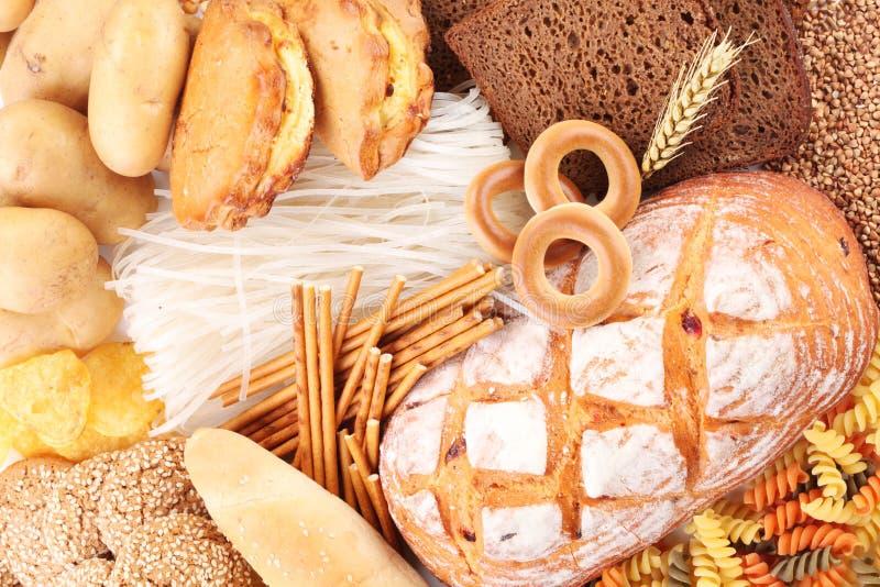 Bäckereiprodukte stockfotografie