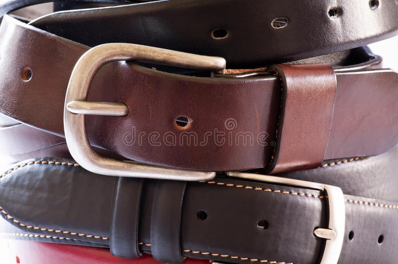 bälten royaltyfria bilder