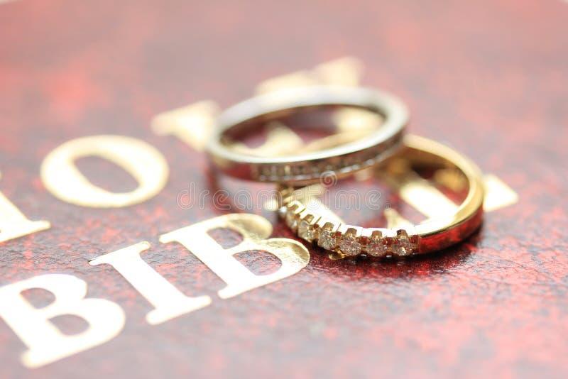 Bänder der diamantenen Hochzeit lizenzfreie stockfotos