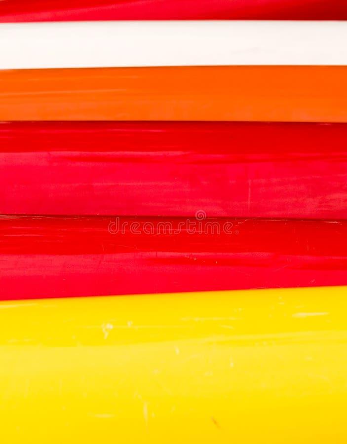 Bänder von Farben stockfotos