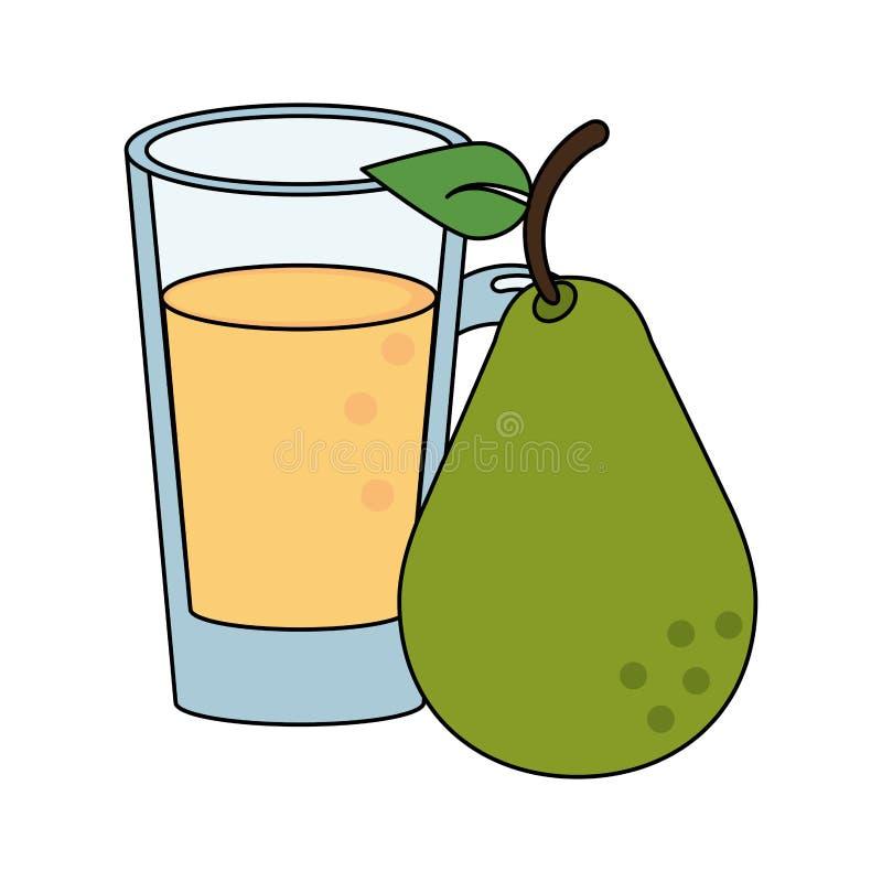 Bär frukt den nya läckra sunda tecknade filmen vektor illustrationer