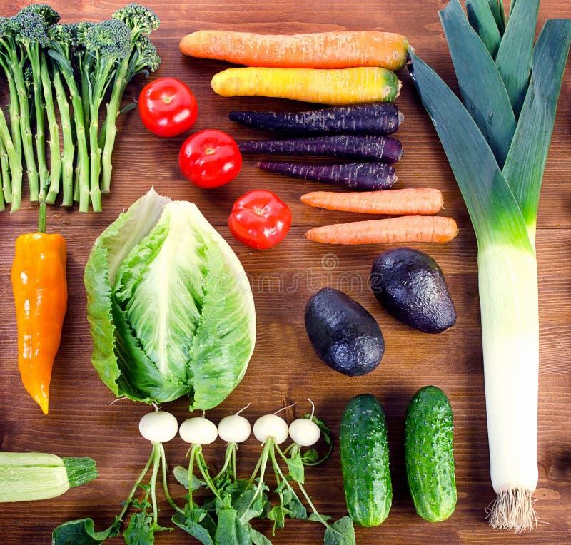 bär fruktt organiska grönsaker royaltyfria bilder