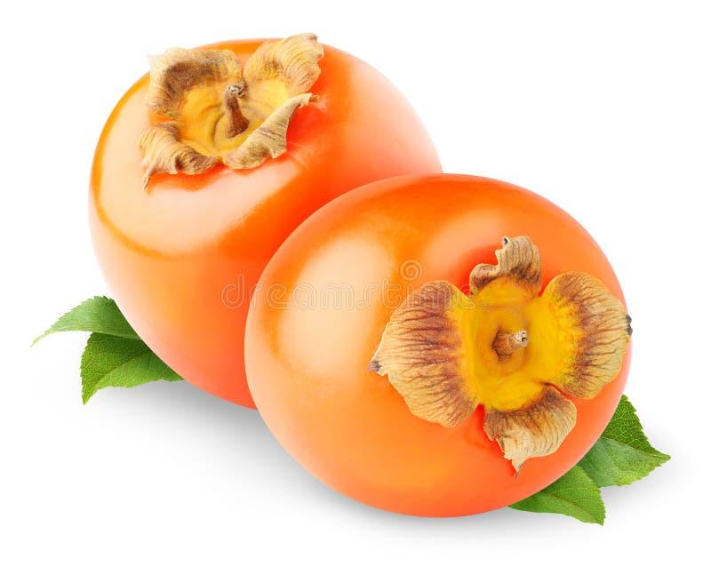 bär fruktt persimmonen royaltyfria bilder