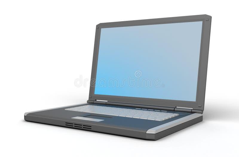 bärbar dator royaltyfri illustrationer
