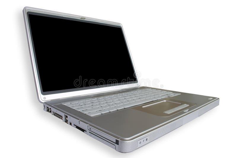 bärbar dator wide royaltyfria foton