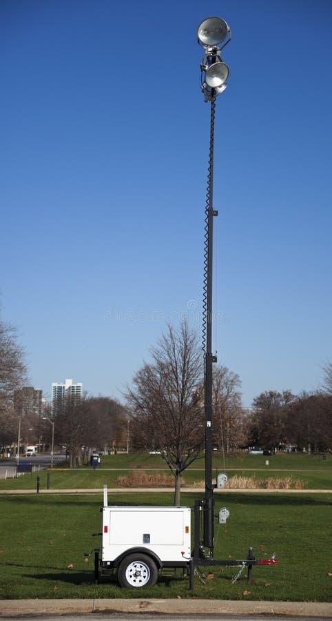 Bärbar lightingutrustning royaltyfria bilder