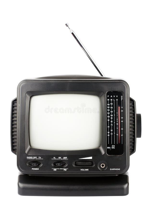 Bärbar TV royaltyfri bild