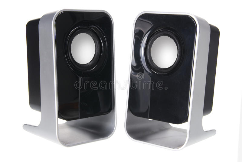 bärbara högtalare arkivfoton