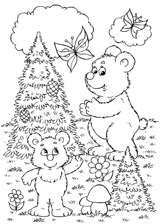 Bären lizenzfreie abbildung