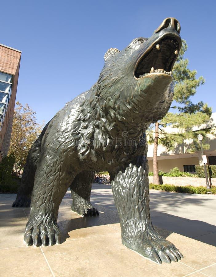 Bären-Statue stockbild
