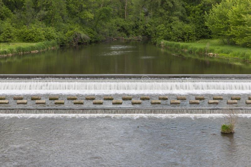 Bärn-Nebenfluss-Verdammung lizenzfreies stockfoto
