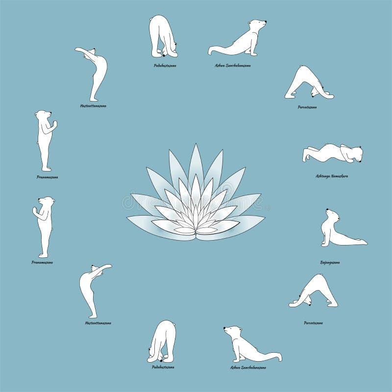 Bärn-Yoga lizenzfreie stockfotos