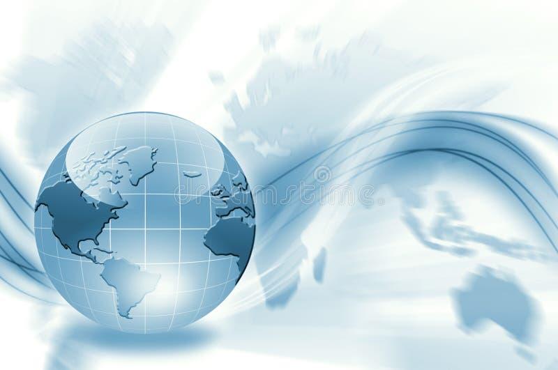 Bäst begrepp av den globala affären royaltyfri illustrationer