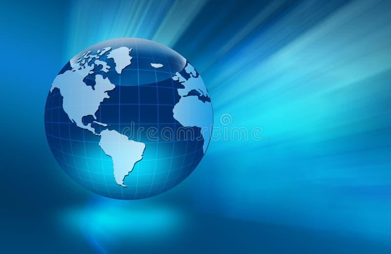 Bäst begrepp av den globala affären stock illustrationer