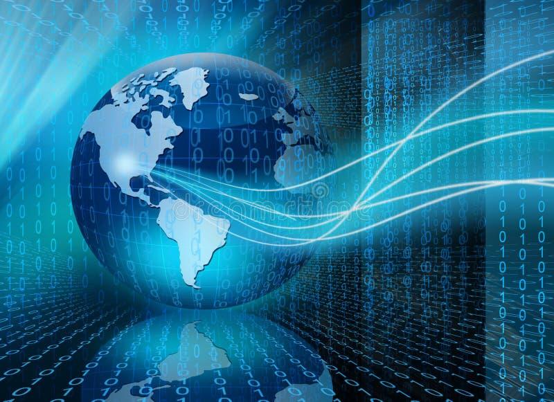 Bäst begrepp av den globala affären vektor illustrationer