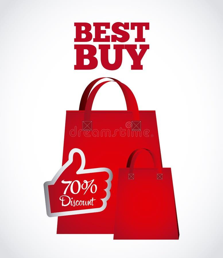 Bäst Buy stock illustrationer