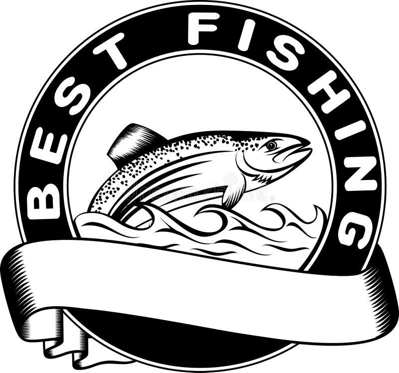 Bäst fiske vektor illustrationer