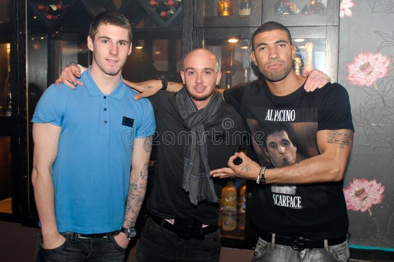 bäst footballers leon newcastle förenade stephen arkivfoto