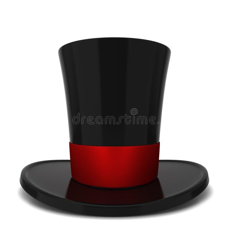 Bästa hatt royaltyfri illustrationer