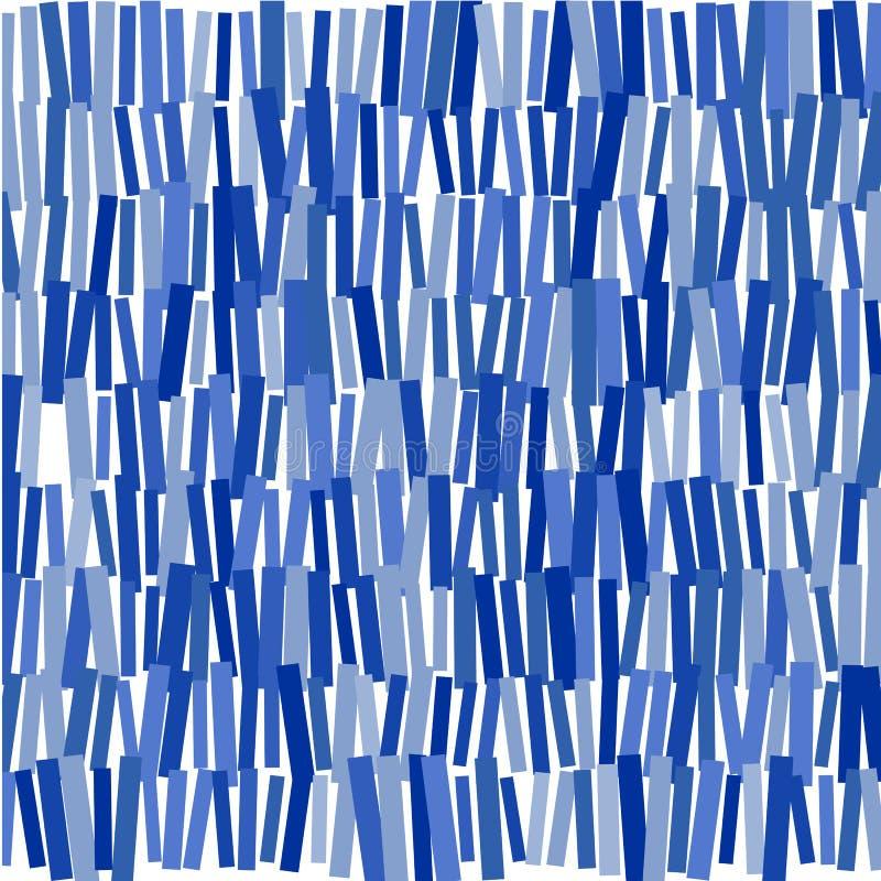 Błękitni prostokąty: abstrakcjonistyczny wizerunek royalty ilustracja