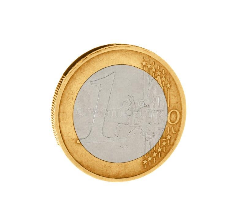 Błyszcząca euro centu moneta zdjęcie royalty free