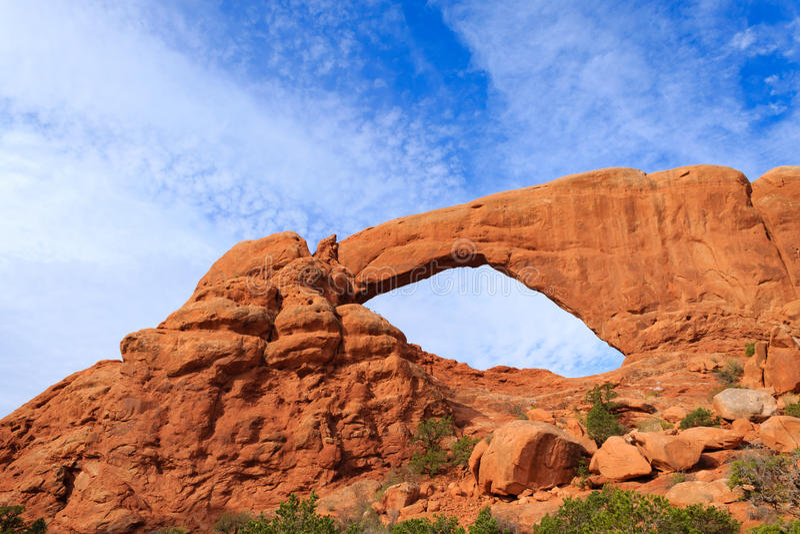 Bågar nationalpark, Moab, USA fotografering för bildbyråer