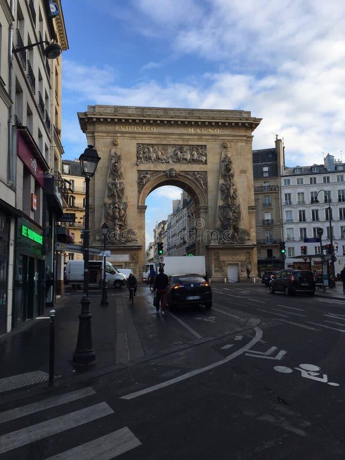 Båge i Paris arkivfoton